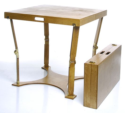 ... Folding Tables & Furniture / Custom Crafted Folding Dining/Card Table
