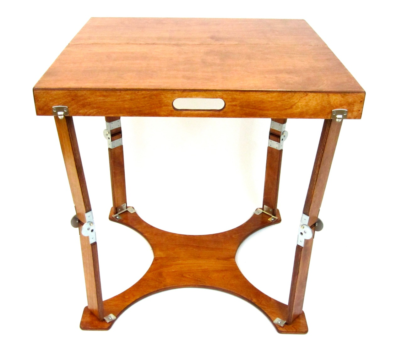 Small Folding Table : ... folding tables furniture custom crafted folding small cafe table