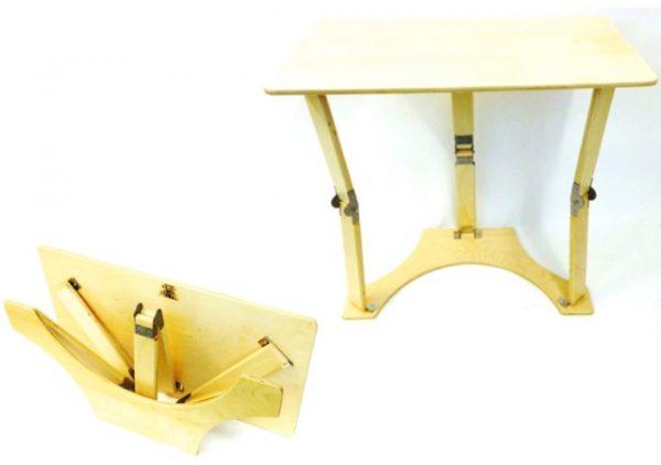 Brilliant Natural Birch Folding Laptop Desk Tray Table Download Free Architecture Designs Scobabritishbridgeorg